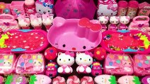 Pink Hello Kitty Slime ! Mixing Mixing Random Things into Slime | Satisfying Slime s #559
