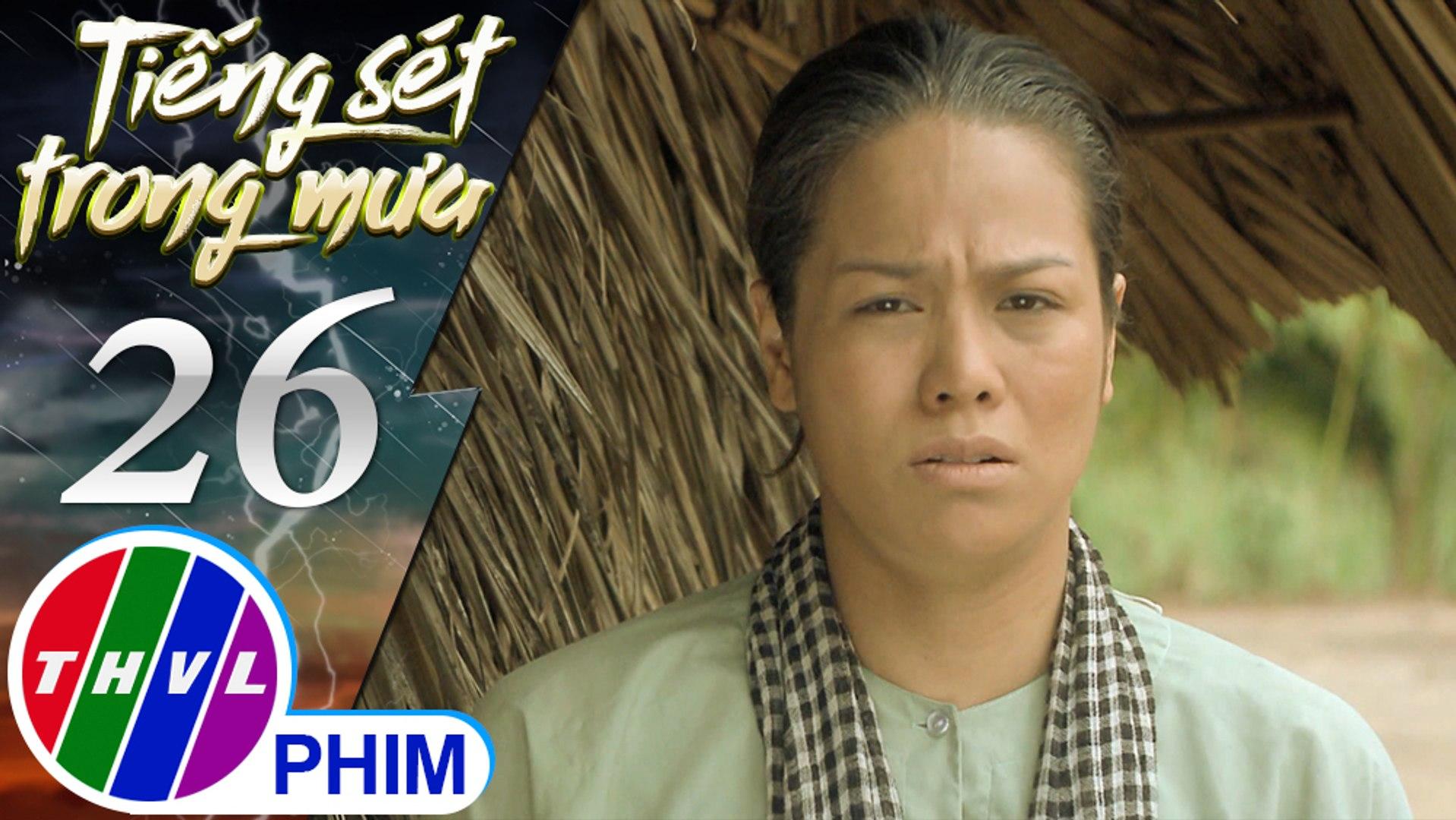 THVL | Tiếng sét trong mưa - Tập 26[2]: Bà Bình tiễn cha con Phượng lên đường đi thăm Hải