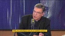 """Bioéthique :  """"On fait des expérimentations invraisemblables"""", dénonce Michel Aupetit, l'archevêque de Paris"""