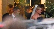 لقطات من حفل زفاف جاستن بيبر وهايلي بلدوين