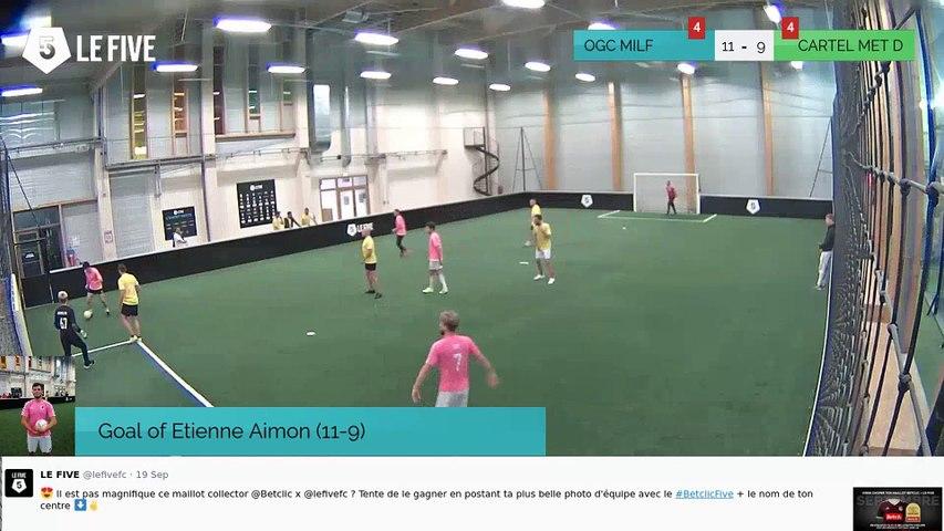 Goal of Etienne Aimon (11-9)