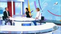 Regardez Brigitte-Fanny Cohen qui a quitté ce matin à 07h15 Télématin sur France 2 - C'est la 11e chroniqueuse historique à partir en quelques semaines
