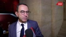 """Incendie de Rouen: Bruno Retailleau  souhaite que """"le Sénat puisse se pencher sur la question"""""""