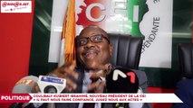 Coulibaly Kuibiert Ibrahime, nouveau président de la CEI aux Ivoiriens : «Il faut nous faire confiance, jugez nous aux actes»