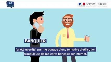 utilisation frauduleuse carte bancaire plainte obligatoire Fraude à la carte bancaire (Perceval) | service public.fr