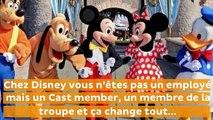 Disneyland  les règles imposées aux employés