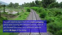 How to get train ticket compensation