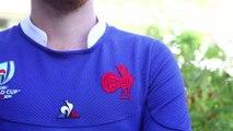 Coupe du Monde 2019 de rugby : le maillot du XV de France en vidéo