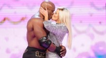 Lana & Bobby Lashley Kiss MAKING OUT  On WWE RAW IN FRONT OF RUSEV