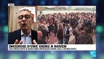 """Incendie à d'une usine à Rouen : """"On ne demande pas d'être rassurés, on demande de savoir"""""""