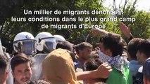 Des migrants continuent d'arriver sur l'île grecque de Lesbos