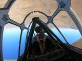 What it's like to fly upside down