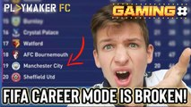 Gaming   Man City relegated!? - FIFA's career mode is still an unplayable mess