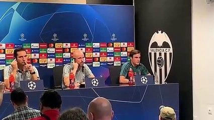 Tagliafico analiza el Valencia-Ajax