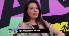 Mica Suarez y La Queen en MTV Fans en Vivo