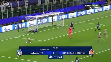 LDC (01/10) - Atalanta Bergame 1 - 2 Shakhtar Donetsk