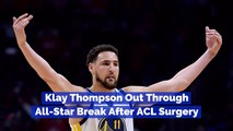 The Update On Klay Thompson's ACL Recovery