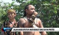 Jalan Akses Ditutup, Masyarakat Suku Dayak Protes ke Pertamina