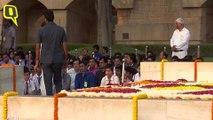 Gandhi At 150: Sonia and Manmohan Pay Tribute to Bapu at Rajghat