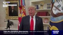 """Donald Trump qualifie la procédure de destitution à son encontre de """"coup d'État"""""""
