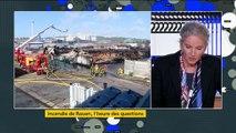 Incendie d'un site Seveso à Rouen : Delphine Batho demande une enquête parlementaire