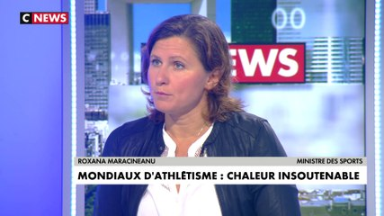 Roxana Maracineanu - CNews mercredi 2 octobre 2019