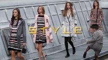 Watch Marie Benolie crash Chanel's runway at Paris Fashion week and Gigi Hadid kick her out