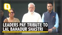 PM Modi, Sonia Gandhi Pay Tribute to Ex-PM Lal Bahadur Shastri