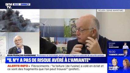Pour Tchernobyl, le mensonge d'Etat était obligatoire : Jean-François Narbonne, ex ANSES - BFM TV - 1° octobre 2019