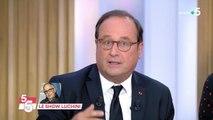 François Hollande répond à Fabrice Luchini.