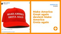 Make America Great again devient Make America Greta again
