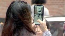 Une rue de Brooklyn perturbée par les touristes accros à Instagram