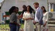 The royal couple's final day of their tour of Africa