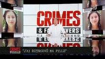 """Cécile, ancienne candidate de télé-réalité, annonce dans """"Crimes"""" sur NRJ12 qu'elle a retrouvé sa fille de 13 ans - VIDEO"""