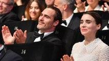 Joaquin Phoenix wooed Rooney Mara over email