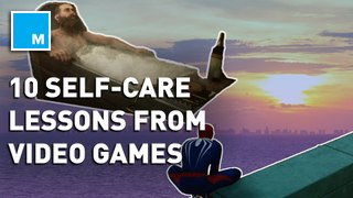 From meditation to taking a bath, here are 10 lessons video games teach about self-care done right