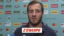 Lopez «On a manqué de consistance dans notre jeu» - Rugby - Mondial - Bleus