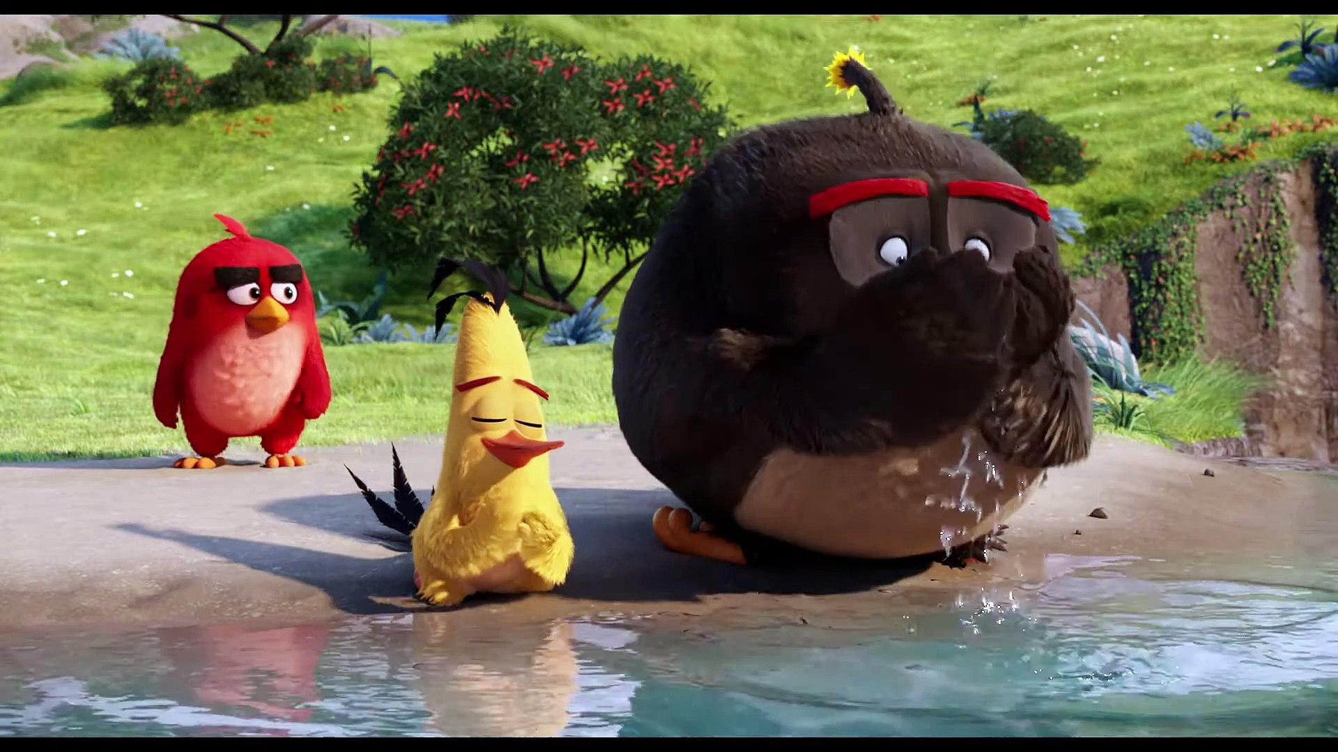 The Angry Birds Movie Clip - Pee Lake - video Dailymotion