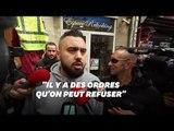 Le gilet jaune Éric Drouet s'est invité à la marche des policiers, mais ça n'a pas duré