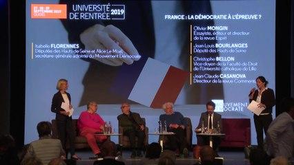 France : la démocratie à l'épreuve - UR2019
