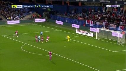 Slimani passeur décisif contre Montpellier