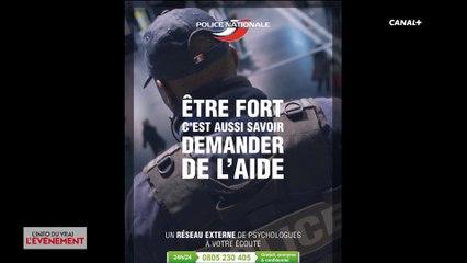 Campagne d'aide psychologique de la police