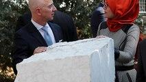 Istanbul : une stèle à la mémoire du journaliste Jamal Khashoggi