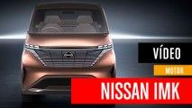 Nissan IMk, el coche eléctrico urbano del futuro
