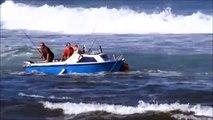 Ce marin prend les vagues de travers et chute de son bateau à capbreton