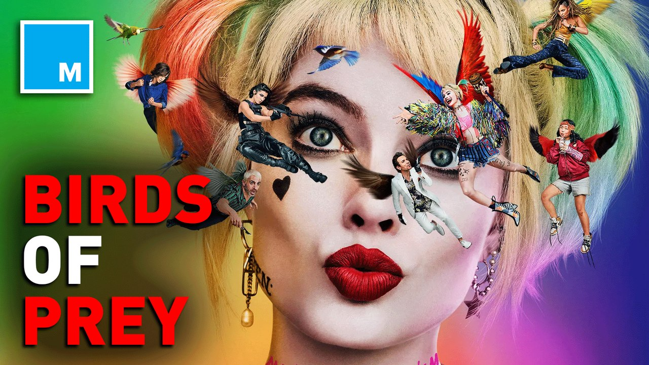 Dc Unveils Trailer For Birds Of Prey Video Dailymotion