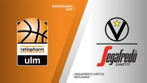 ratiopharm Ulm - Segafredo Virtus Bologna Highlights | 7DAYS EuroCup, Regular Season Round 1