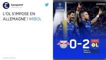 Ligue des champions : Les Lyonnais s'imposent face au RB Leipzig au terme d'un match sérieux