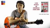 Warum ohne Noten fast nichts geht   Gitarre lernen