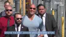 Dwayne 'The Rock' Johnson Returns to WWE's 'SmackDown': 'There's No Place Like Home'